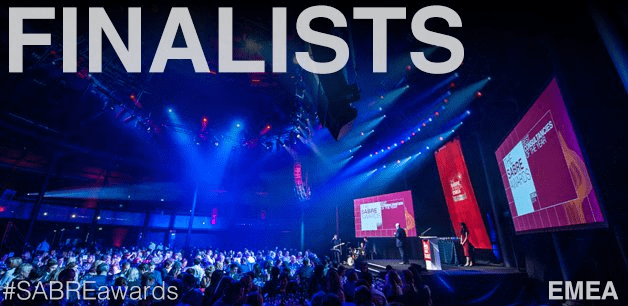 Sabre Awards Icon Strategies shortlisted